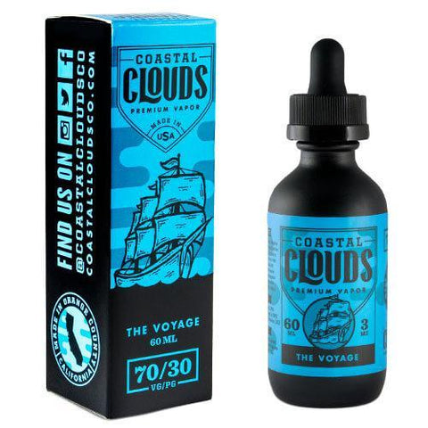 Coastal Clouds eJuice - The Voyage