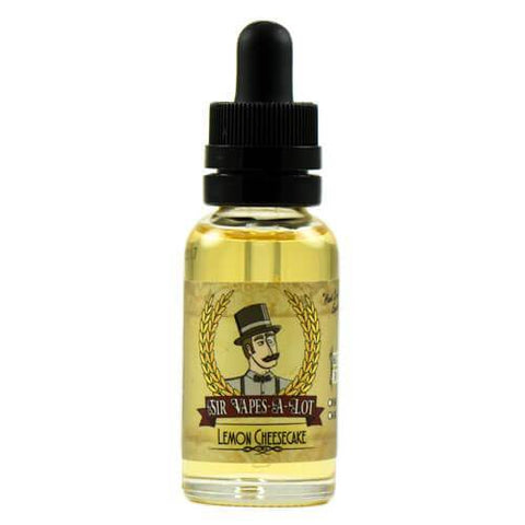 Sir Vapes-A-Lot eLiquid - Lemon Cheesecake