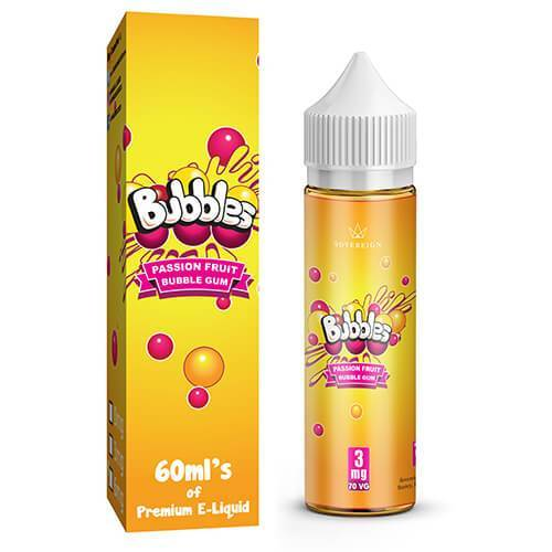 Bubbles by Sovereign Juice Co - Passion Fruit Bubble Gum