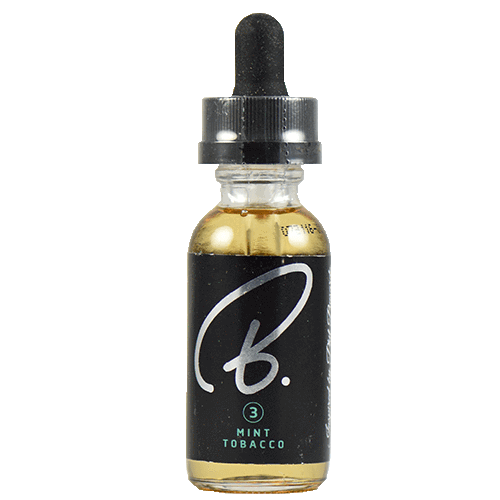 B. E-Liquid By Phil Busardo - Mint Tobacco