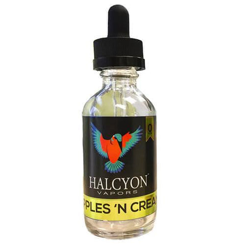 Halcyon Vapors - Apples 'N Cream
