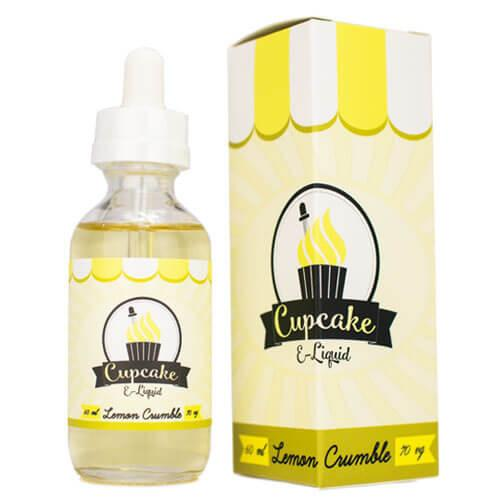 Cupcake E-Liquid - Lemon Crumble