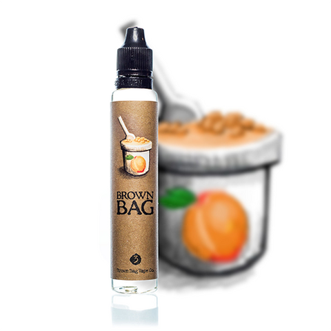 Brown Bag Vape Co. - Peach Creamery