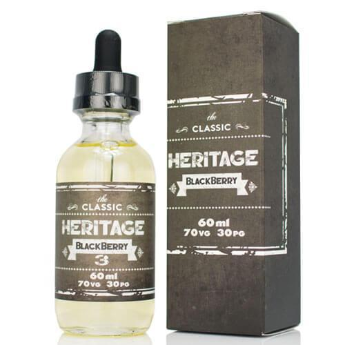 Heritage eJuice - Blackberry