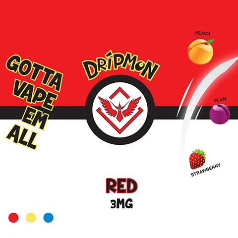 Dripmon E-Liquid - Red