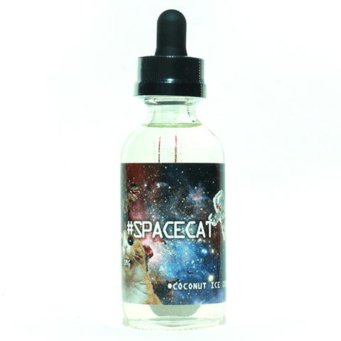 #SPACECAT eJuice - #Coconuticecream