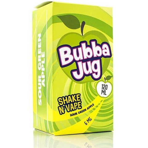 Bubba Jug eLiquid - Sour Green Apple