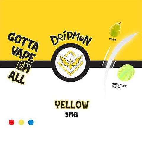 Dripmon E-Liquid - Yellow