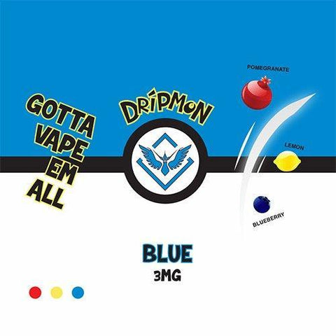 Dripmon E-Liquid - Blue