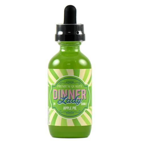 Dinner Lady Premium E-Liquids - Apple Pie