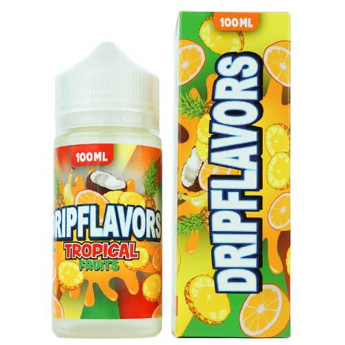DripFlavors eJuice - Tropical Fruits