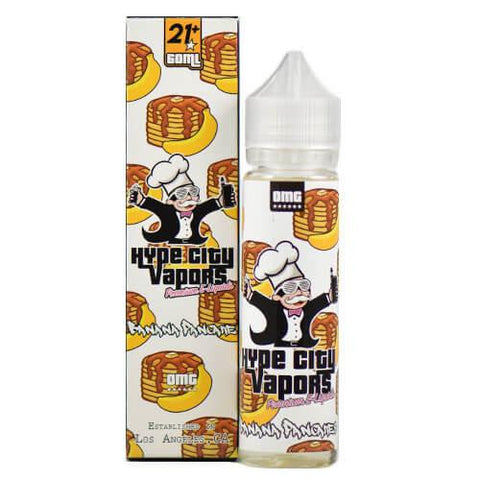 Hype City Vapors - Banana Pancake