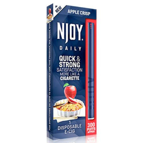 Njoy Daily eCig - Apple Crisp (1 Pack)