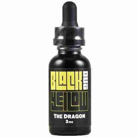 Black and Yellow eLiquid - Dragon