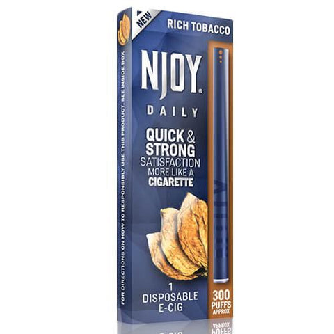 Njoy Daily eCig - Rich Tobacco (1 Pack)