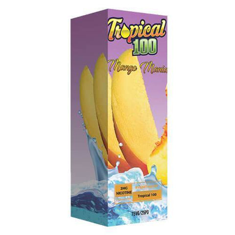 Tropical 100 eJuice - Mango Mania