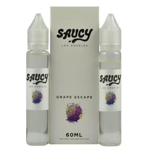 Saucy eLiquid - Grape Escape
