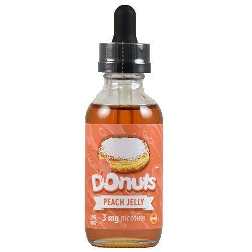 Donuts E-Juice - Peach Jelly