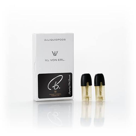 B. E-Liquid By Phil Busardo - My. Von Erl LiquidPods - Traditional Tobacco (2 Pack)