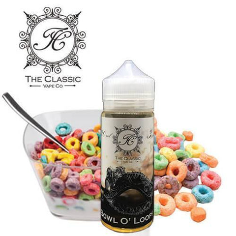 Budget eLiquid - Bowl O' Loops