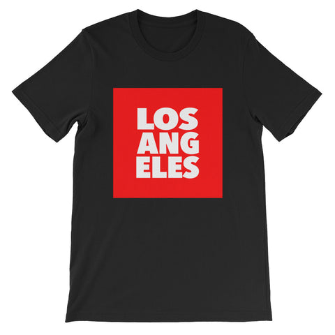 Los Angeles T-Shirt - Black/Red