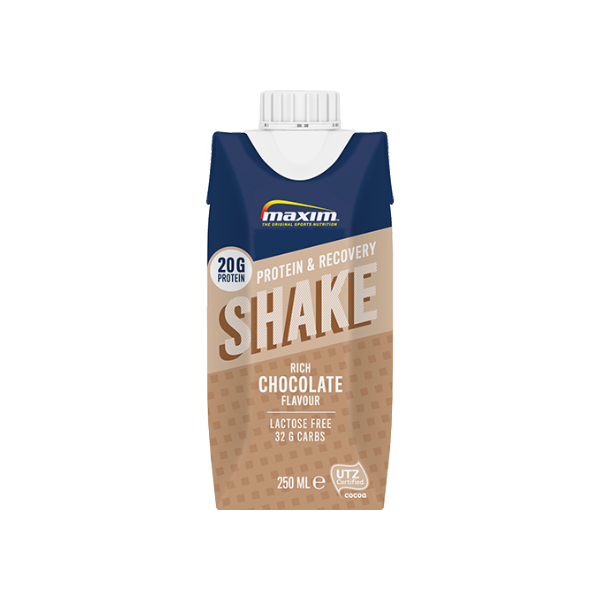 "Protein & Recovery Shake ""Rich Chocolate"" 12 kpl"
