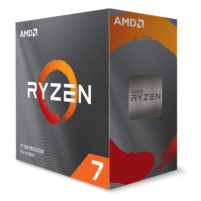 Amd Ryzen 7 3800xt, 7nm Skt Am4 Cpu; 8 Core/16 Thread Base Clock 3.9 G Hz