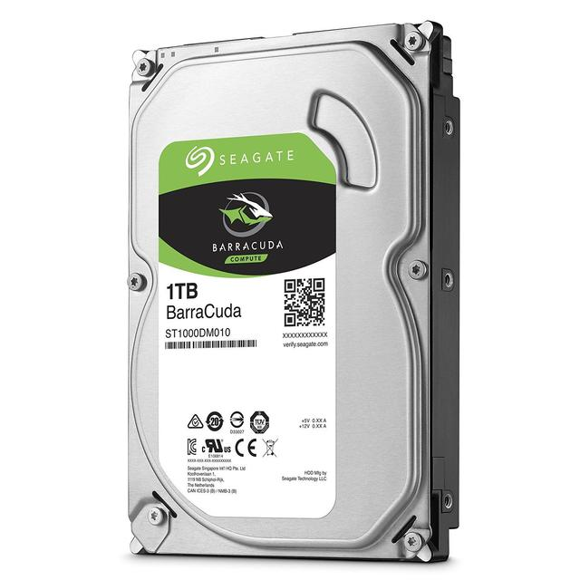 Seagate Barracuda 1TB, 3.5'' Internal, SATA 6GB/s, RPM 7200, 64MB Cache