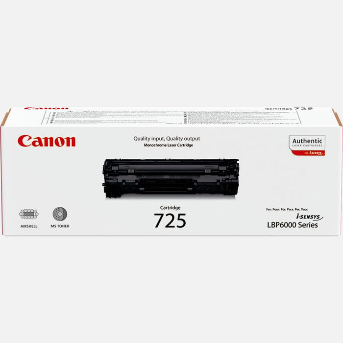 Canon 725 Black Laser Toner Cartridge