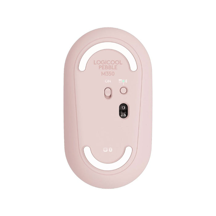 Logitech Pebble M350 Wireless Mouse Rose