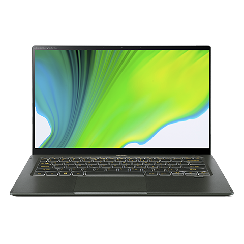 Acer Swift 5, Intel Core I5-1135G7, 14'' Fhd, Touch, 8Gb, 512 NvMe, Cam, WiFi, Bt, Fpr, Bl, Win10H, Green