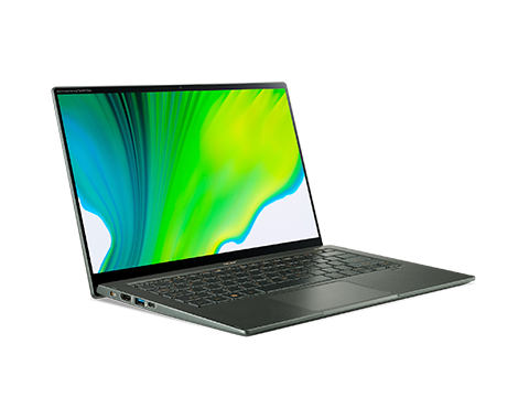 Acer Swift 5, Intel Core I7-1165G7, 14'' Fhd Touch, 8Gb, 512 NvMe, Cam, WiFi, Bt, Fpr, Bl, Win10H, Green