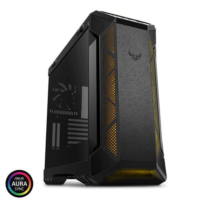 Asus Gt501 Tuf Gaming Case   Atx Mid Tower; 4 X Int X 3.5''; 3 X Int X 2.5''; 2 X Usb 3.1 Gen1.