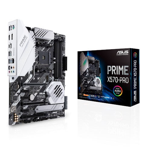Asus Prime X570 Pro Amd Am4; 4x Ddr4; 2x PcIe 4.0/3.0 x16 (Single @16 Or Dual @ X8 Mode)+1x PcIe 4.0 x16 (Max.@ x4 Mode)