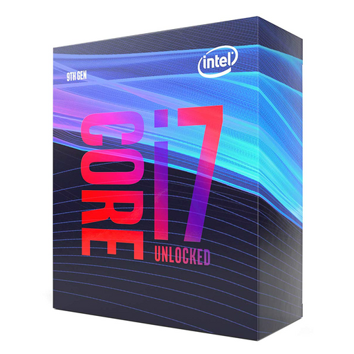 Intel Core i7 9700K 3.60 GHZ, 8 Core, 8 Thread, LGA 1151, Unlocked, Coffee Lake-S