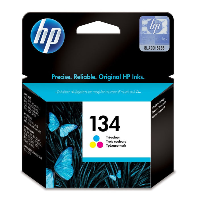 Hp 134 Tri Color Original Ink Cartridge;~560 Pages.