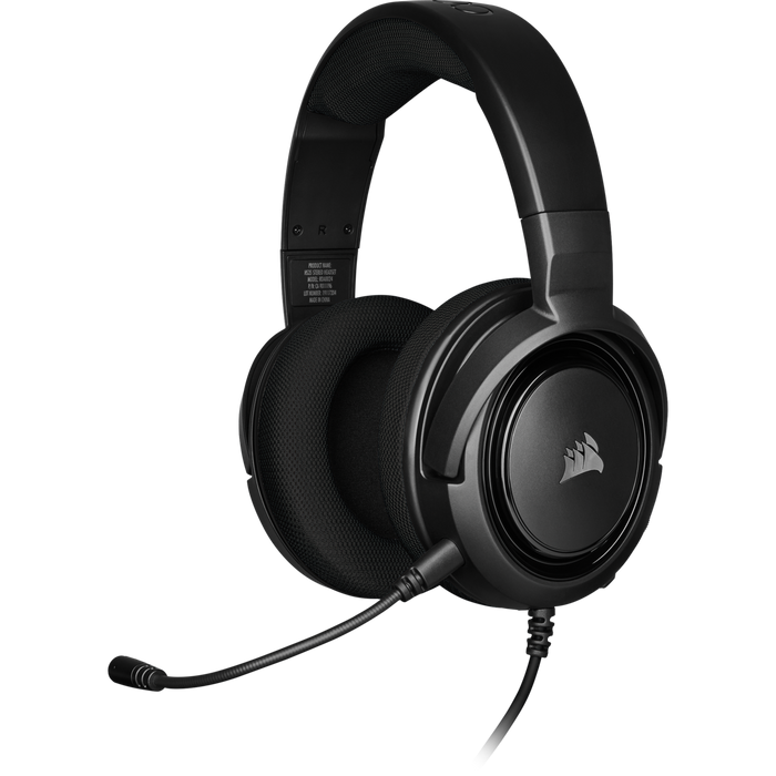 Corsair HS35 Stereo Gaming Headset, Carbon Multi Platform Compatibility