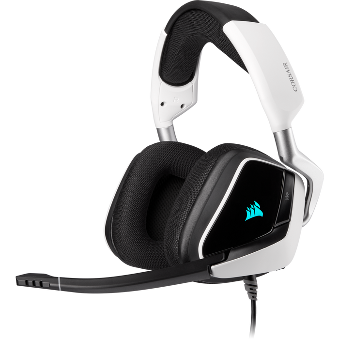 Corsair Void Elite Surround Usb Gaming Headset With Dolby® Headphone 7.1 — White; Console Ready; Usb