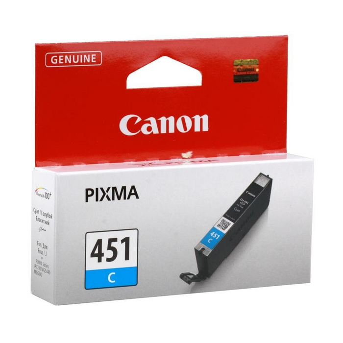 Canon CLI-451 Cyan Single cartridge, Cyan, Std