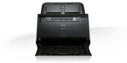 Canon DR-C240 Desktop Multi-Document Scanner - A4 Sheet Feed; Duplex; 60-sheet ADF; 45ppm B&W & 30ppm Colour. USB.App 4000 daily