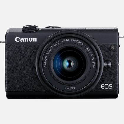 Digital Camera Eos M200 Body; Camera Cover R-F-4; Strap Em- 200Db; Battery Pack Lp E12; Battery Charger Lc E12 E; Power Cable; Us