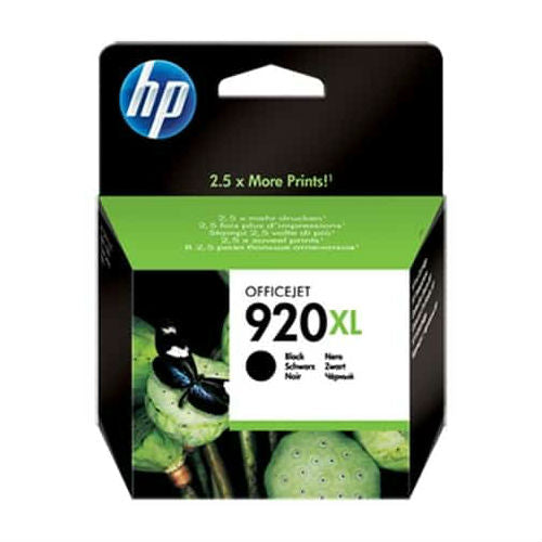HP 920XL Black Officejet Ink Cartridge 1200 pages