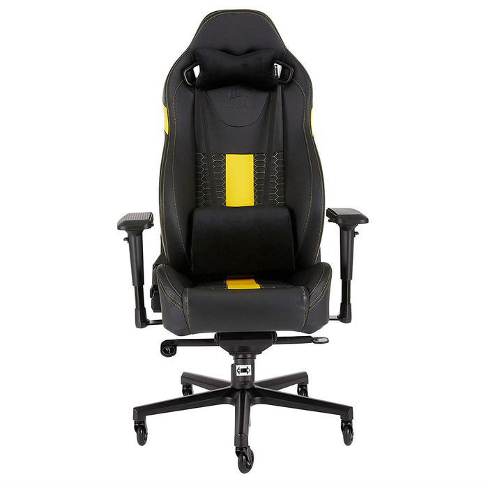 Corsair T2 Road Warrior Gaming Chair - Black/Yellow