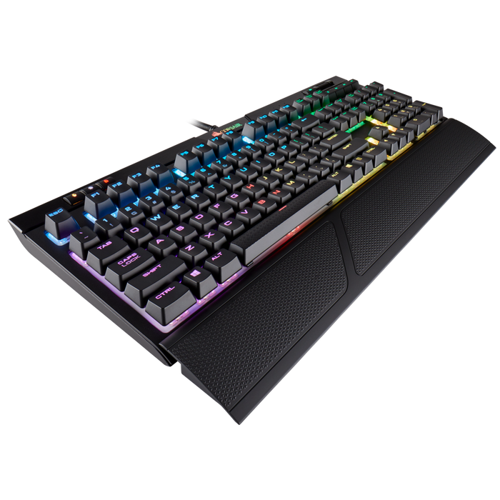 Corsair Strife MK.2, Mechanical Gaming Keyboard, RGB Backlight, Cherry MX Silent