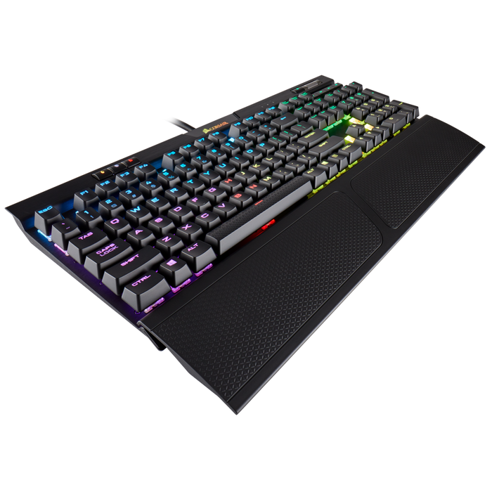 Corsair K70 MK.2 RGB, Mechanical Gaming Keyboard, RGB LED Backlight, Cherry MX Red