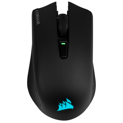 Corsair Harpoon RGB Wireless, Rechargeable Gaming Mouse with Slipstream Technology, Black