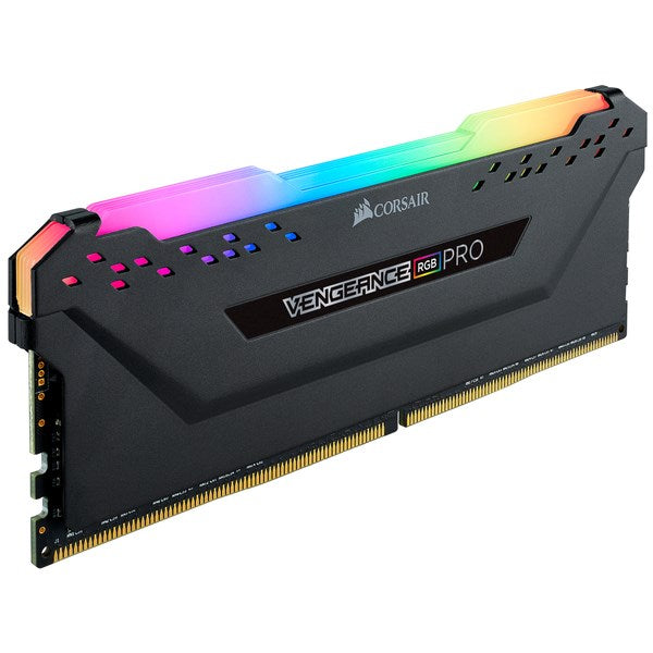 Corsair Vengeance Rgb Pro 8Gb (1x 8Gb) Ddr4 Dram 3600MHz C16 Memory Kit; 18-22-22-42; 1.35V; Black For Amd
