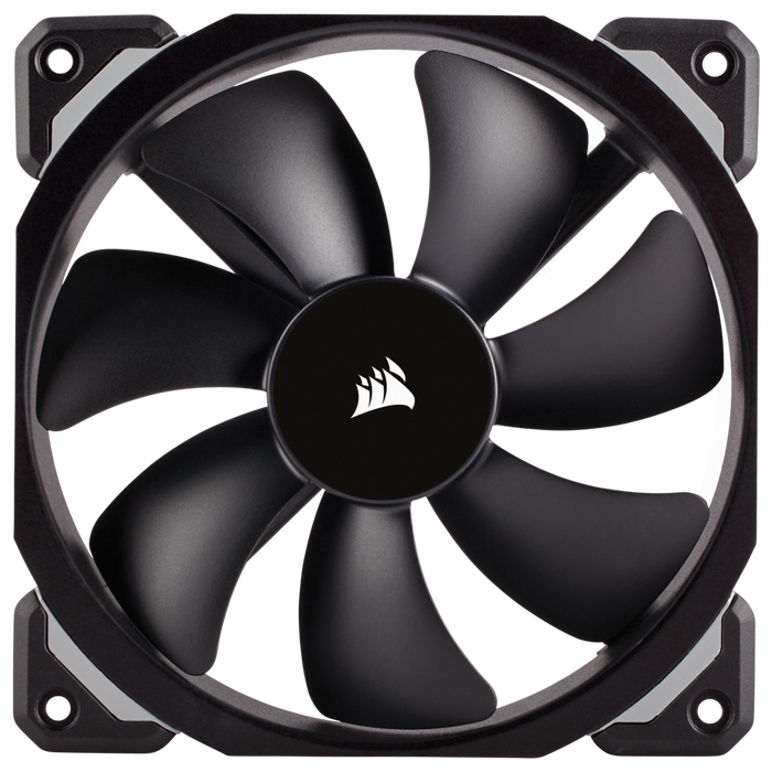 Corsair ML120 Pro, 120mm Magnetic Levitation Chassis Cooling Fan, Single