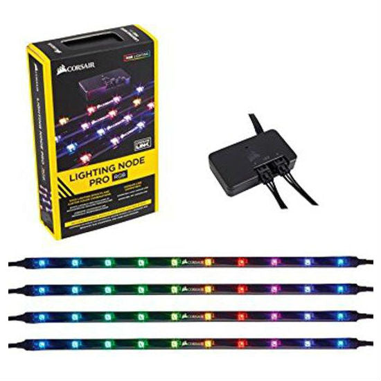 Corsair Lighting Node Pro with 4 x Digital RGB LED Strips