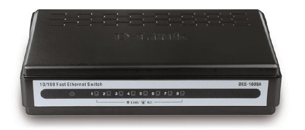 D-Link DES-1008 8-Port 100M Unmanaged Switch